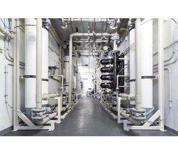Fluence NIROBOX - Model FW - Containerized Fresh Water Treatment Unit