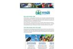 TITAN - Version iMobile - Cutting-Edge Tool Brochure