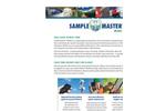 Sample Master - Version iMobile - Laboratory Analysis Software Brochure
