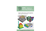 3DEC - Version 7.0 - Distinct-Element Modeling of Jointed and Blocky Material in 3D - Brochure