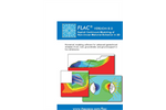FLAC - Version 8.0 - Numerical Modeling Software Brochure