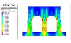 UDEC - Version 7.0 - Universal Distinct Element Code Software