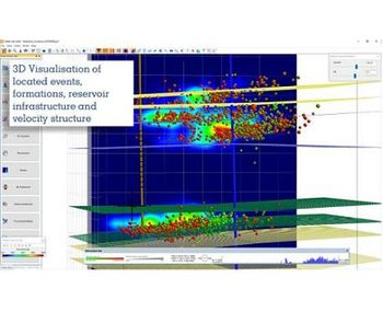 InSite-HF - Version 3.16 - Microseismic Processing, Analysis and Visualisation for Reservoir Monitoring Software