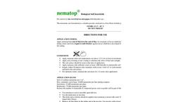 nematop - Biological Soil Insecticide Brochure