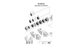 Model SR 500 EX - Battery Powered Fan Unit Brochure