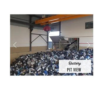 Battery Breaker Recycling Plant-1