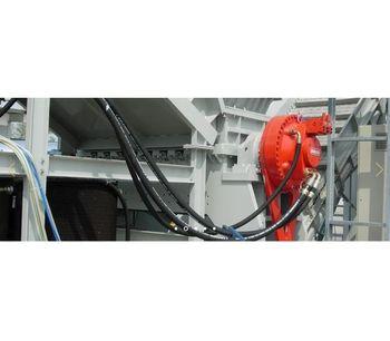 Shredding Line for Aluminium Scraps With Component`s Separation-1