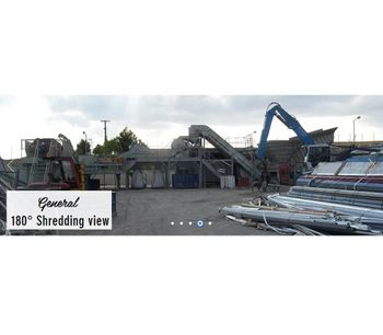 Shredding Line for Aluminium Scraps With Component`s Separation-4