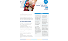 Accela - Automating Public Safety Functions Software Brochure