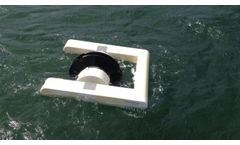 Resen Waves Power Buoy In Action - Video