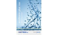 ecoStorm plus 1500 high performance-cost effective Stormwater Treatment System