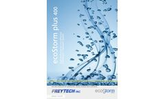 ecoStorm plus 400 high performance-cost effective Stormwater Treatment System