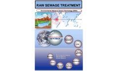 RAW SEWAGE TREATMENT- Environmental Balance Device Technology (EBD)