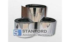 Stanford - Model NBZ0042 - Niobium Zirconium Alloy Foil
