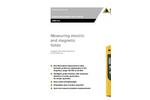 Narda - Model NBM-520 - Broadband Field Meter Brochure
