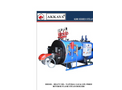 Akkaya - Model KBB - Reverse Flame Steam Boilers Brochure
