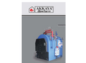 Akkaya - Model YSB - Half Cylindrical Three Pass Steam Boilers Brochure