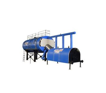 Akkaya - Model HYB - Scotch Type Front Combustion Chamber Steam Boilers