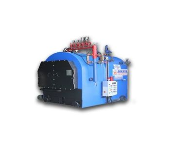Akkaya - Model YSB - Half Cylindrical Three Pass Steam Boilers