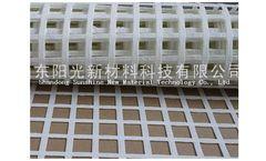Model a001 -80KN-80KN - High Reinforced Polyester Mine Grid