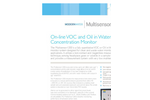 Multisensor1200 On-line VOC and Oil in Water Concentration Monitor Brochure
