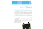 Model PDV 6000 Ultra - Portable Metal Monitor Brochure