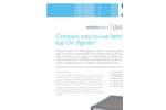 Modern Water - Model UVI 4000 - Bench Top UV Digester Brochure