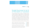 AlgaeChek - Portable Fluorometer for the Detection of Chlorophyll and Cyanobacteria