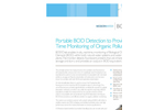 BODChek Portable BOD Detection to Provide Real Time Monitoring of Organic Pollution Brochure