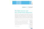 DeltaTox - Model II - Portable Toxicity and Bio-Contaminant Detection Brochure
