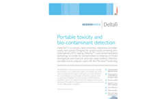 DeltaTox - Model II - Portable Toxicity and Bio-Contaminant Detection Brochure