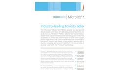Microtox - Model M500 - Industry-Leading Toxicity Detection Brochure