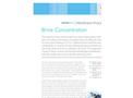Membrane Brine Concentration - Brochure