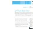 Modern Water - Model OVA7000 - On-line Metal Monitor Brochure