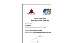 E & P Waste Disposal / Pinnacle Services Brochure