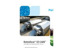 Rotoshear Internally Fed Rotating Wedgewire Drum Screen EZ Care Brochure