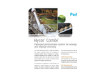 Combi Packaged Headworks Systems for Sewage and Septage Receiving Brochure