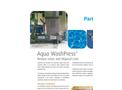 Aqua WashPress - Dewatering Screw Press