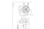 Indco - Model FMG-100T - 1 HP Electric Heavy Duty Gear Drive Flange Mount Mixer Brochure