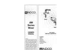 Indco - Model AM200-B - 1-1/2 HP Air Handheld Mixer Brochure