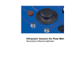 Ultrasonic Flow Sensors for Utilities Management Brochure