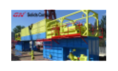 GN Solids Control Drilling Fluid Dewatering Unit Working Video