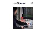 Hitachi High-Tech - Model Lab-X5000 - Benchtop XRF Analyser - Brochure