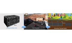 leiyuan - Model M2014 - Underground Water Tank - Underground Water Storage Tanks for Harvesting System