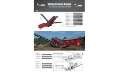 Maximus - Model 512 - Vibrating Tracked Screener Brochure