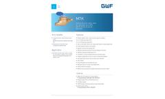 Model MTK - Multijet Residential Water Meters - Brochure