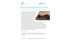 Sophisticated Fuel Consumption Monitoring in a Gold Mine - Application Note