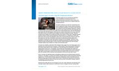 Smart Temperature Data Logger Reduces Solder Waste - Application Note