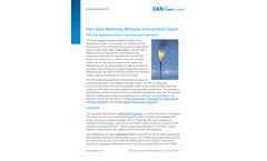 Flare Stack Monitoring Minimizes Environmental Impact - Application Note