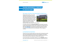 Tracking Environmental Conditions of Livestock Barns - Application Note